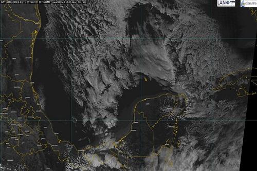Mañana martes habrá frío de 5 a 7 grados Celsius, en el sur de Yucatán