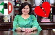 Otro priista traidor tendrá trabajo en el gobierno estatal: Celia Rivas