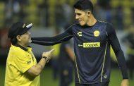 Maradona seguirá como DT de Dorados
