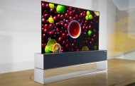 LG lanza la primera tele enrollable