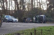 Se accidenta el auto del Príncipe Felipe de Inglaterra: sale ileso