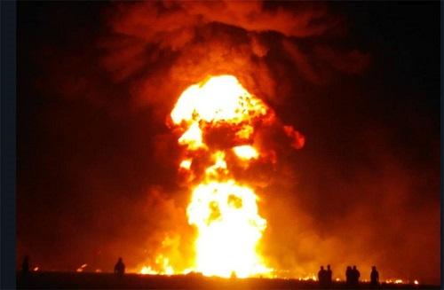 Hasta ahora suman 91 muertos, por el incendio durante el robo de gasolina PEMEX