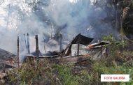 Un cortocircuito provoca el incendio de una casa de huano, en Sierra Papacal: no hubo heridos