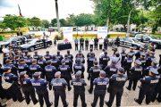 Entregan nuevas patrullas equipadas y radios móviles a la Policía Municipal