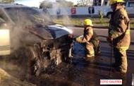 Se incendia una Windstar, por una falla mecánica, en Dzilam González: no hubo heridos