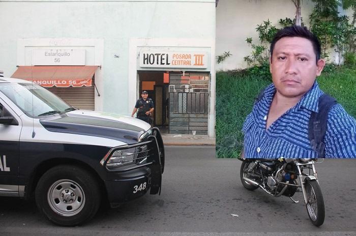 Un tekaxeño casado, el hombre que murió después del placer en el hotel Posada Central III