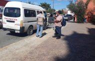 Realizan operativos contra taxis