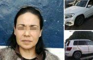 La ex candidata del PVEM a alcaldesa de Celaya se roba un auto y la detienen