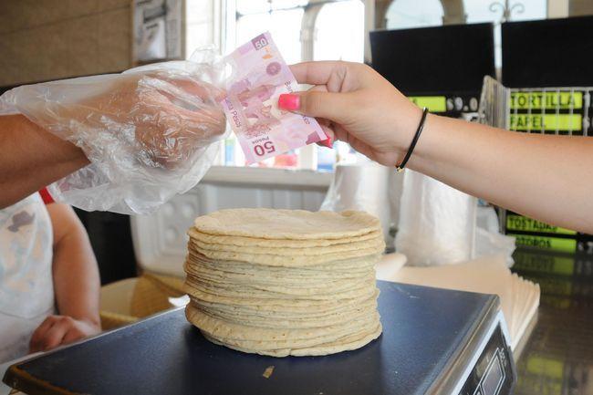 Precio de la tortilla se mantendrá en $18