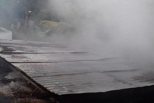 Por un cortocircuito, se incendia la cocina de una humilde casa, en Tzucacab: no hubo heridos