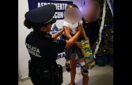 Rescatan a una menor española que secuestraron en Tulum, en el aeropuerto de Cancún