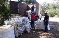 Recolectan tres toneladas de envases tóxicos, en la zona agrícola de Huntochac de Oxkutzcab