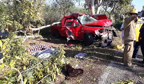 Mueren dos ancianitos en un accidente, en el tramo Izamal-Tekal de Venegas