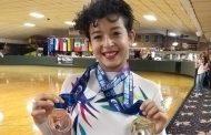 La patinadora Valeria Montejo se muestra como la nueva estrella en torneo de Orlando