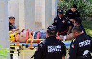 Termina con lesiones graves tras caer cinco metros a un sumidero, en Peto