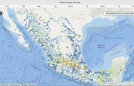 La Conagua publicó información sobre la calidad del agua en México