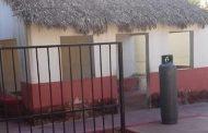 Intentan robar un tanque de gas y extintores, en un jardín de niños de Tizimín