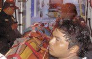 Terminó el día del amor y la amistad en el O'Horán con posible fractura de cadera
