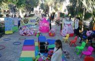 Protestan en la Plaza Grande por el recorte a estancias infantiles