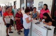 Adultos mayores reciben en tiempo y forma el apoyo de pensión