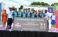 La Selección de Coahuila ganó el Tochito NFL ante la Ciudad de México, en la categoría Vince Lombardi