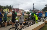 Incluyen a Motul en recorridos de turistas: Extranjeros recorren la ciudad en bicicleta