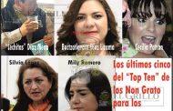 """""""Lechitas"""", Silvia, Cecilia, Mily y la Buctzotzlovaca, entre los """"malqueridos"""""""