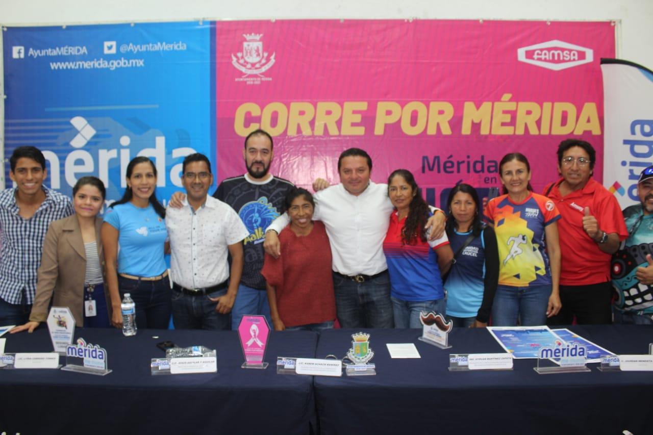 """Este sábado, en el Paseo Henequenes, comienza el ciclo de competencias """"Corre por Mérida 2020"""""""