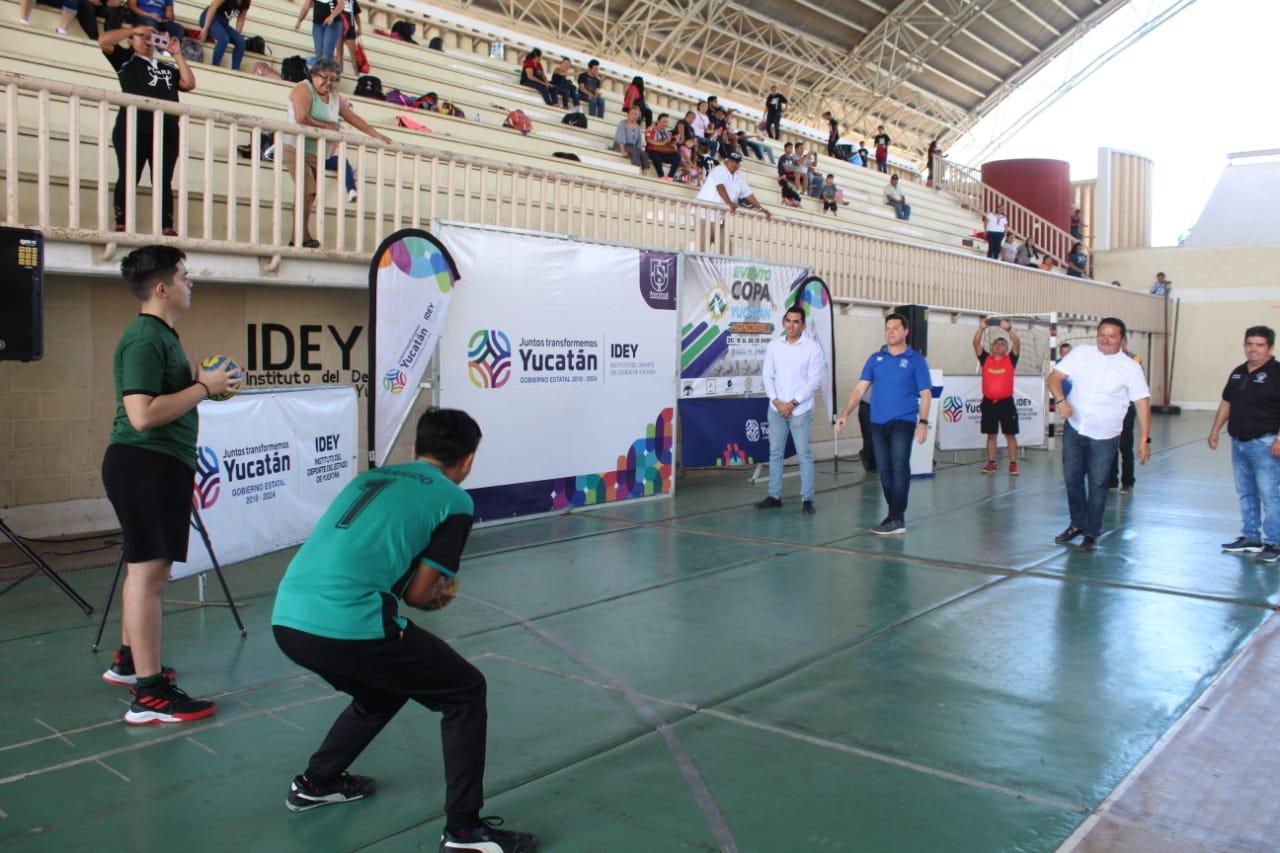 Ya se juega la Copa Yucatán de Handball con 62 equipos de CDMX y la Península de Yucatán