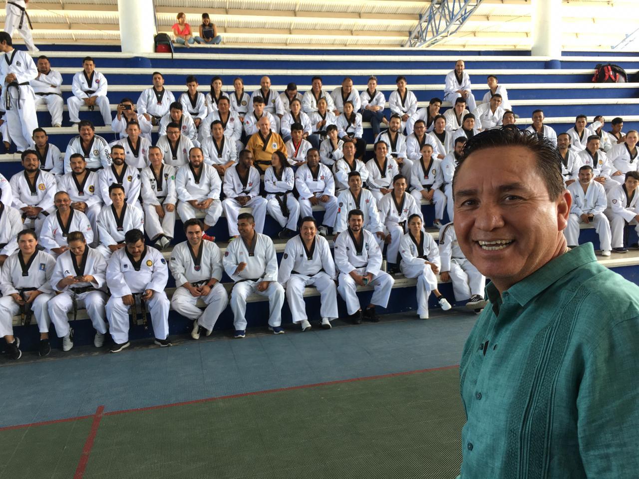 El tae kwon do mexicano con presión extra para Juegos Olímpicos, asegura el dirigente nacional González Pinedo
